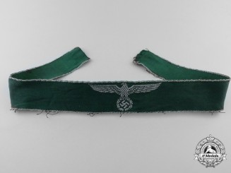 A Second War German Land Customs Cufftitle