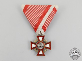 Austria, Empire. A Military Merit Cross with War Decoration