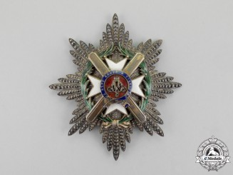 "Serbia, Kingdom. An Order of Takovo, Grand Cross Star by ""Vincent Mayer's Söhne"""