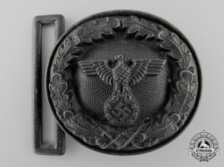 A German National Forestry Service Official's Belt Buckle