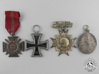 A Lot of First War Period German Medals & Awards