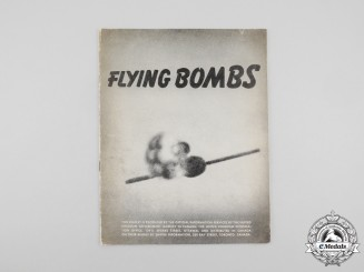 "A Wartime V-1 ""Flying Bombs"" Public Information Leaflet"