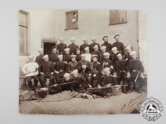 An Imperial Russian Soldiers' Group Photograph c. 1900