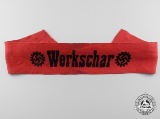 A Werkchar DAF Factory Troop Leader Cufftitle