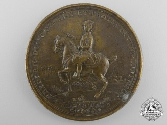 A 1757 Frederick the Great Lissa and Rossbach Campaign Medal