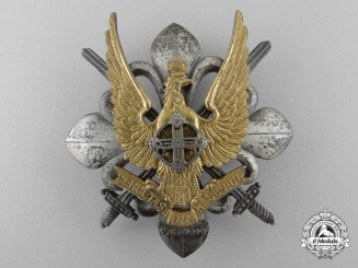 A Rare Romanian King Michael I Period Military Scout Badge