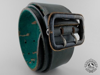 A German Forestry Belt with Buckle by Luneschloss, Solingen