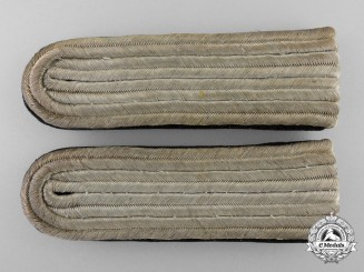 A Croatian Pair of Armed Troops Shoulder Boards; Junior Second Lieutenant