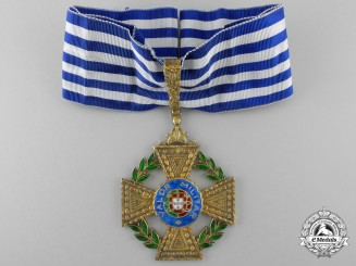 Portugal, Republic. A Cross for Military Bravery, Commanders Cross, c.1920