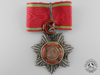 A Turkish Order of Mejidie; Commanders Neck Badge