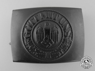 A Third Reich Period Westfalen Fire Defence Service Officer's Belt Buckle