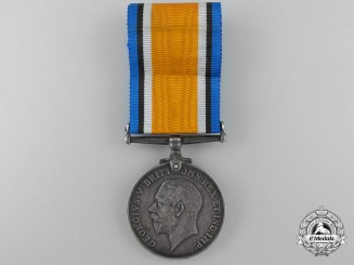 A British War Medal to the P.P.C.L.I.; Sanctuary Wood Casualty