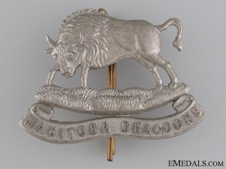 Manitoba Dragoons Militia Cap Badge