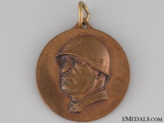 Medal Mussolini's Visit to Berlin