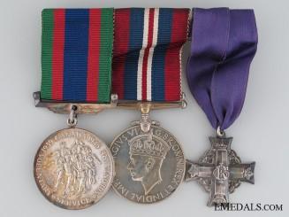 Memorial Cross of Sgt. F.E. Wellington RCAF