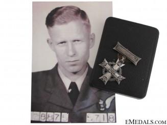 Memorial Cross to RCAF Lancaster Navigator