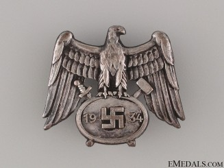 Mine Service Cap Badge