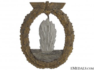 Minesweeper War Badge by  Adolf Scholze