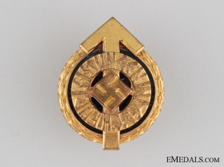 Miniature HJ Golden Leader's Sports Badge