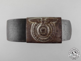 Germany. A Waffen-SS Enlisted Man's Belt with Buckle