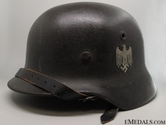 Model 1940 Army Single Decal Helmet