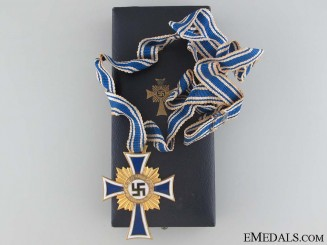 Mother's Cross - Gold Grade & Cased