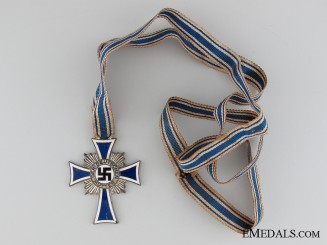 A German Mother's Cross; Silver Grade