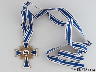 Mother's Cross; Bronze Grade