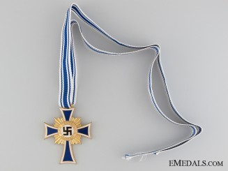 Mother's Cross; Gold Grade