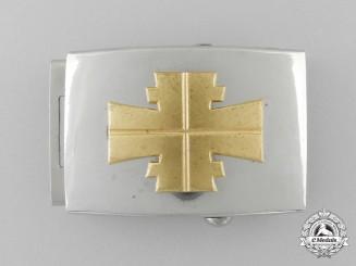 Germany, Third Reich. An Athletic Association (Deutscher Turnerbund) Belt Buckle; Published Example