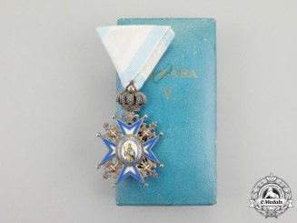 Serbia. An Order of St.Sava; Fifth Class with Case