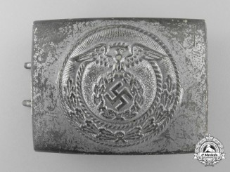A National Socialist Motor Corps  Enlisted Man's Belt Buckle; Published Example