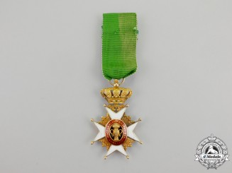 Sweden. An Order of Vasa in Gold; Knight's Badge