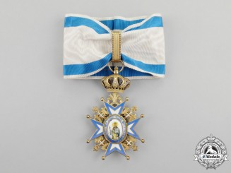 Serbia. An Order of St. Sava; 3rd Class Commander Cross