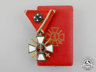Hungary, Kingdom. An Order of Merit, IV Class Knight with Grand Cross, Military Division