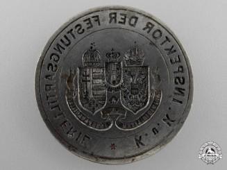 A First War Austrian Imperial Artillery Hand Stamp Plate