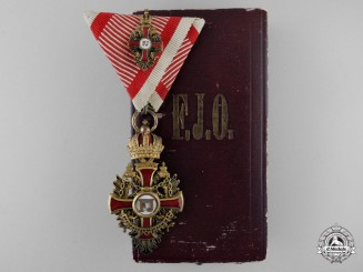 An Austrian Order of Franz Joseph with Case by K.Bohm