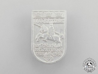 A 1938 DAF 650 Year Anniversary of the Battle of Worringen Celebration Badge