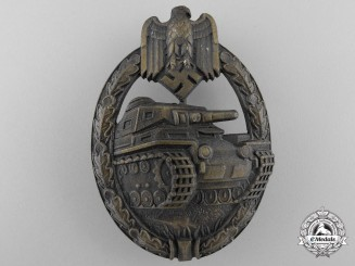 A Mint Bronze Grade Tank Assault Badge