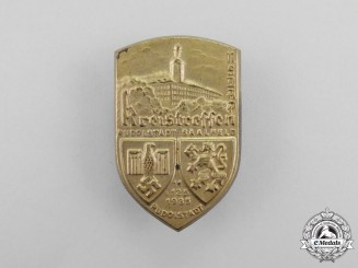 A 1935 NSDAP Rudolfstadt-Saalfeld District Council Day Badge
