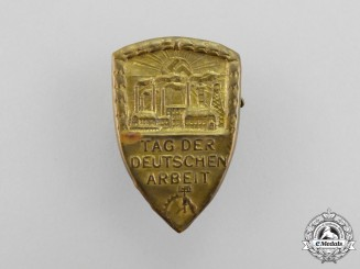 "A Third Reich Period NSBO ""Day of German Labour"" Badge"