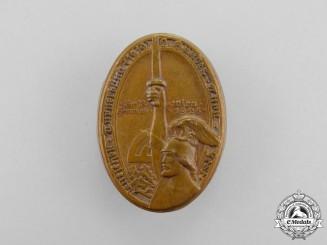 A 1926 German Gymnastics League Vienna Gymnastics Festival Badge