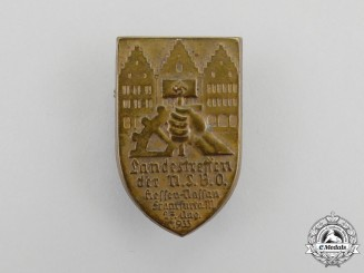 A 1933 NSBO Hessen-Nassau District Meeting Badge