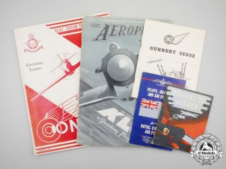 Five Second War Publications & Twenty-two Photographs and One Postcard; RCAF