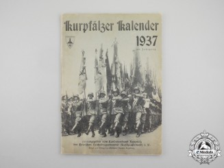 A 1937 Palatinate Regional Calendar by the Reich Warrior League (Kyffhäuserbund)