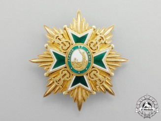 A Military and Hospitaller Order of Saint Lazarus of Jerusalem Breast Star