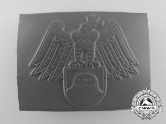 A Steel Helmet League (Der Stahlhelm) Veteran's Organization Belt Buckle; Published