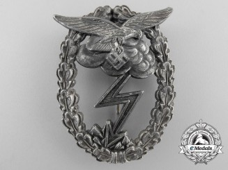 A Luftwaffe Ground Assault Badge by G.H. Osang