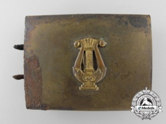A German Civilian Band Member's Belt Buckle