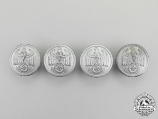 A Set of NSDAP Diplomatic Official's Uniform's Buttons